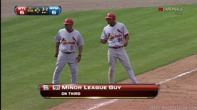 The St Louis Cardinals Broadcasting Team Had Trouble Identifying A Certain Minor Leaguer Yesterday To Hilari Minor League Baseball Cardinals Players Baseball