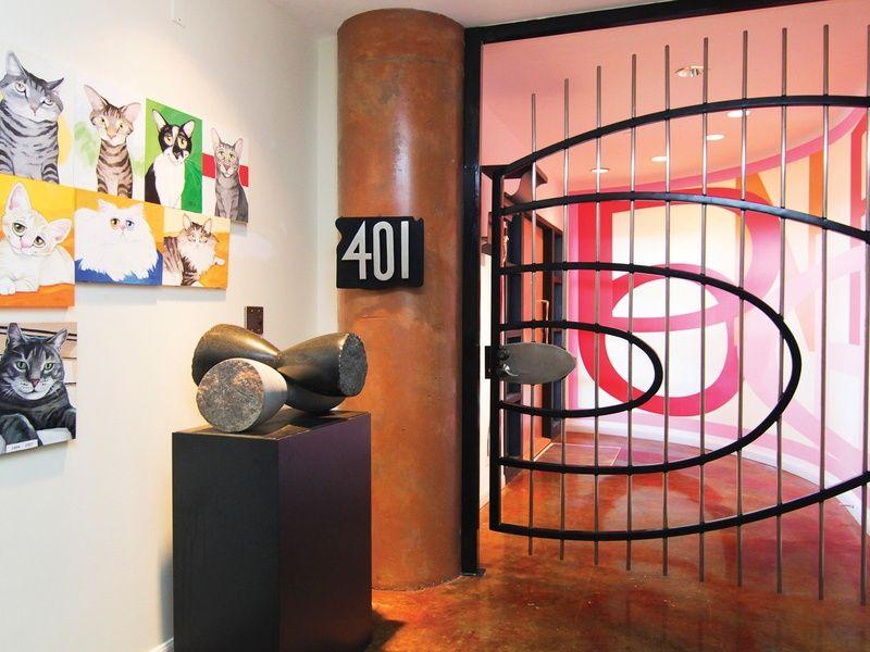 Cat Pop Art Stunning view, Loft, Luxury homes