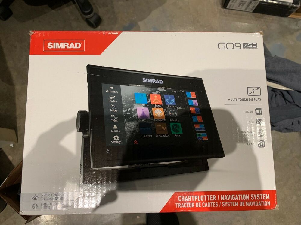 eBay #Sponsored NEW Simrad GO9 XSE Chartplotter/Fishfinder w