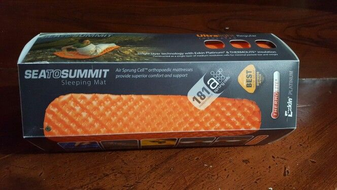 Sea To Summit Ultralight Insulated Sleeping Pad Regular