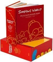 Simpsons World The Ultimate Episode Guide: Seasons 1-20. If anyone's wondering what to buy me for Christmas - this.