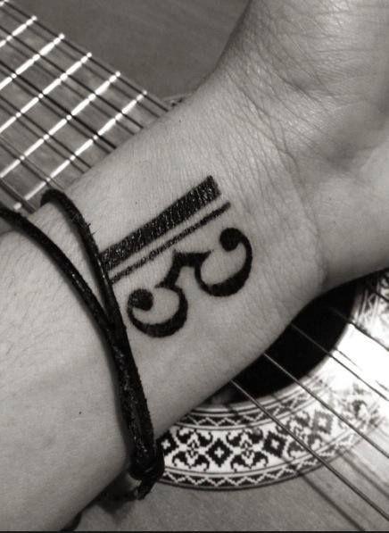 Clave De Do Tattoo Viola Ii3 Pinterest Tattoos Key Tattoos Y