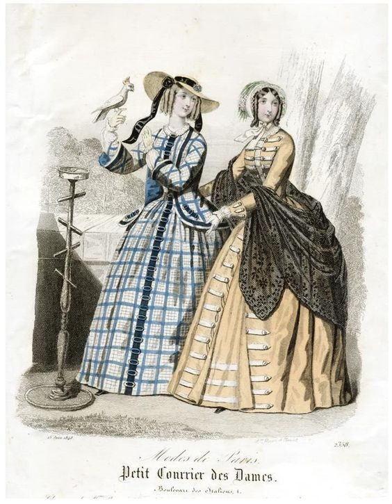 1840-1850S Dickens Victorian Costuming For Women  Fashion -6858