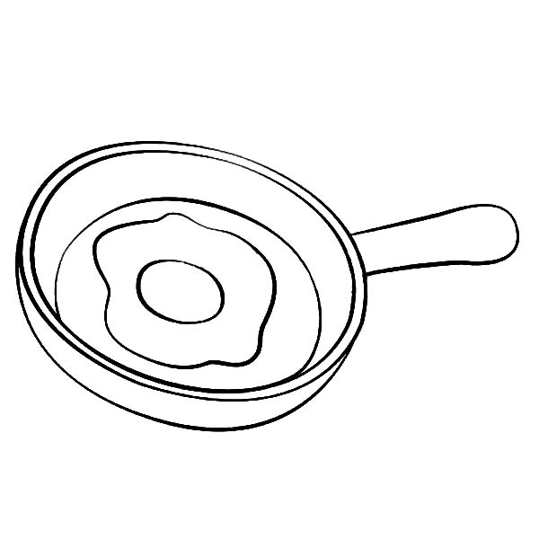Fried Egg On Frying Pan Coloring Pages Download Print Online Coloring Pages For Free Color Nimbus In 2020 Coloring Pages Online Coloring Pages Online Coloring