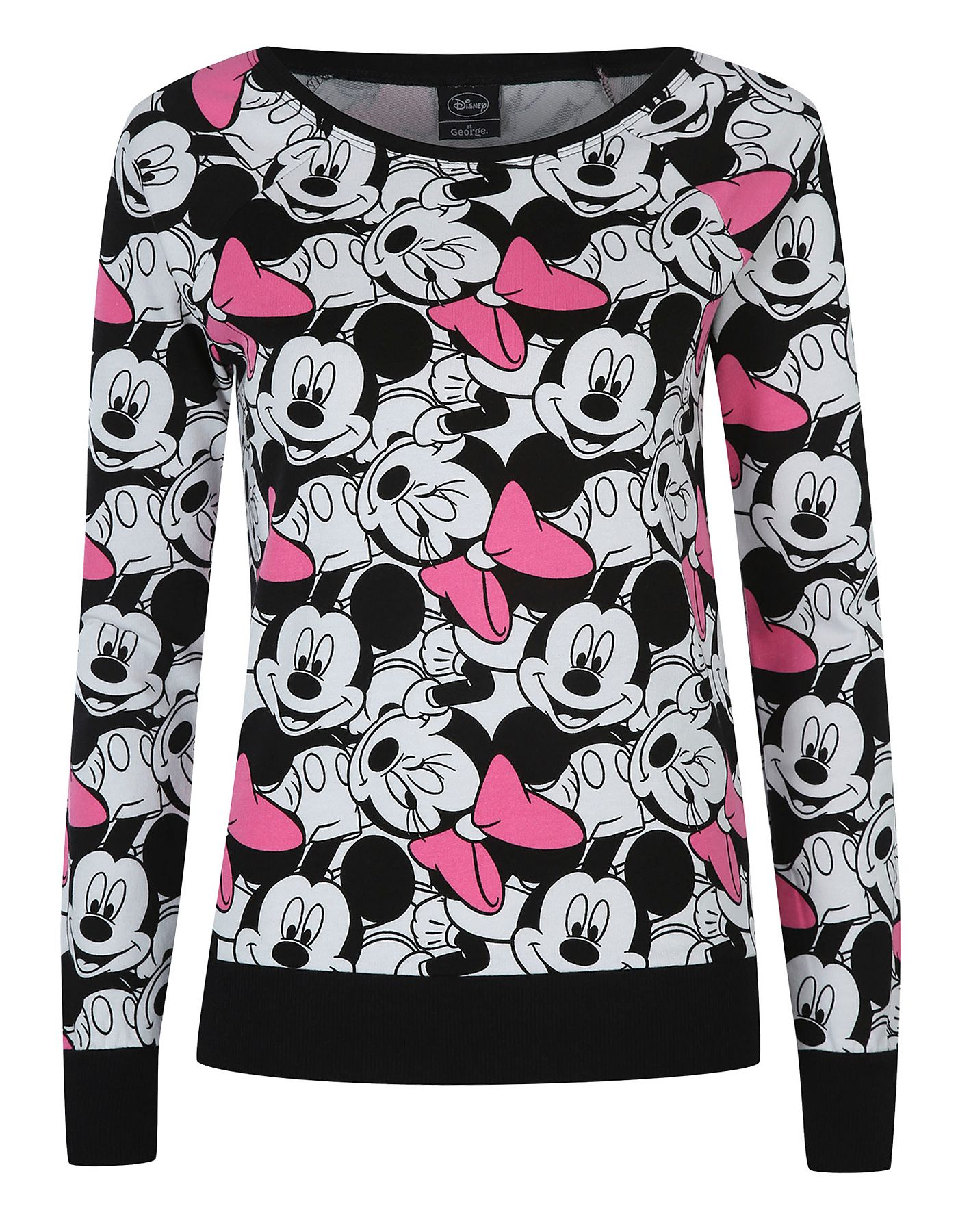 Minnie And Mickey Mouse Sweater Women George At Asda Minnie
