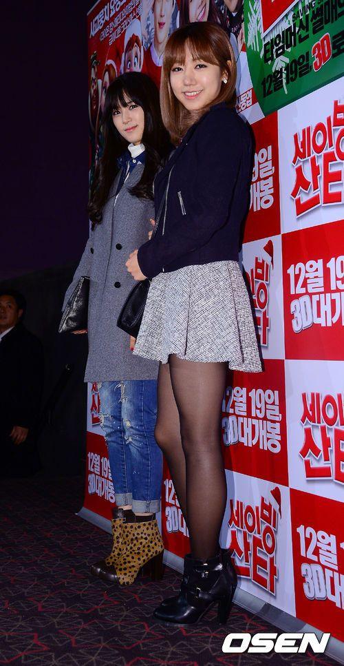 [사진]에이핑크 박초롱-김남주,'은지 응원왔어요'