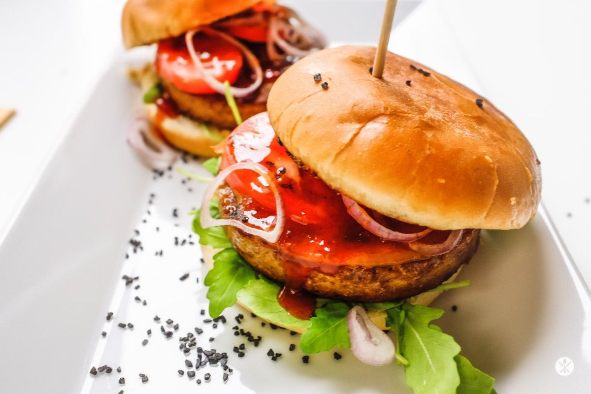 Vegetarische Burger & mehr