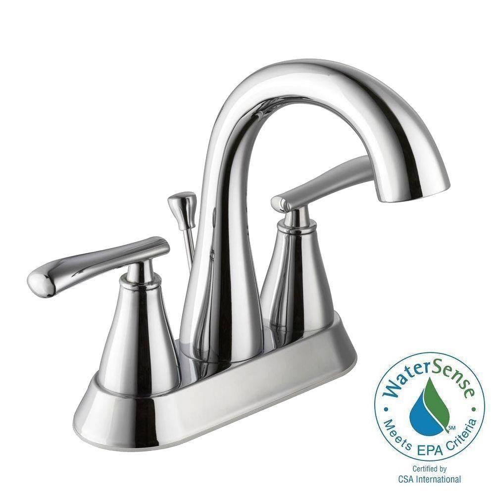 Glacier Bay 4 Inch Centerset Sink Faucets Bathroom Sink Faucets