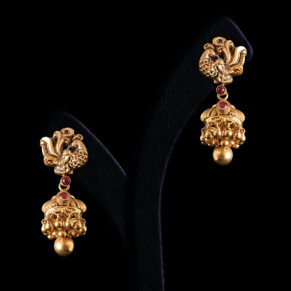 Madhuri Ear Tops Jewellery In 2019 Jewelry
