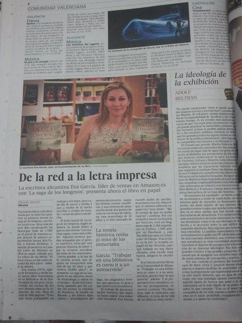 La Verdad Newspaper Escritores Danza Alicantina