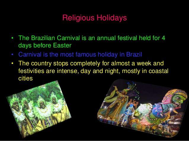 Brazil Culture Powerpoint Brazil Culture Coastal Cities Day