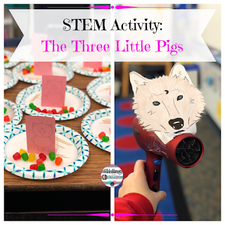 Sliding into First!: STEM Activity: The Three Little Pigs