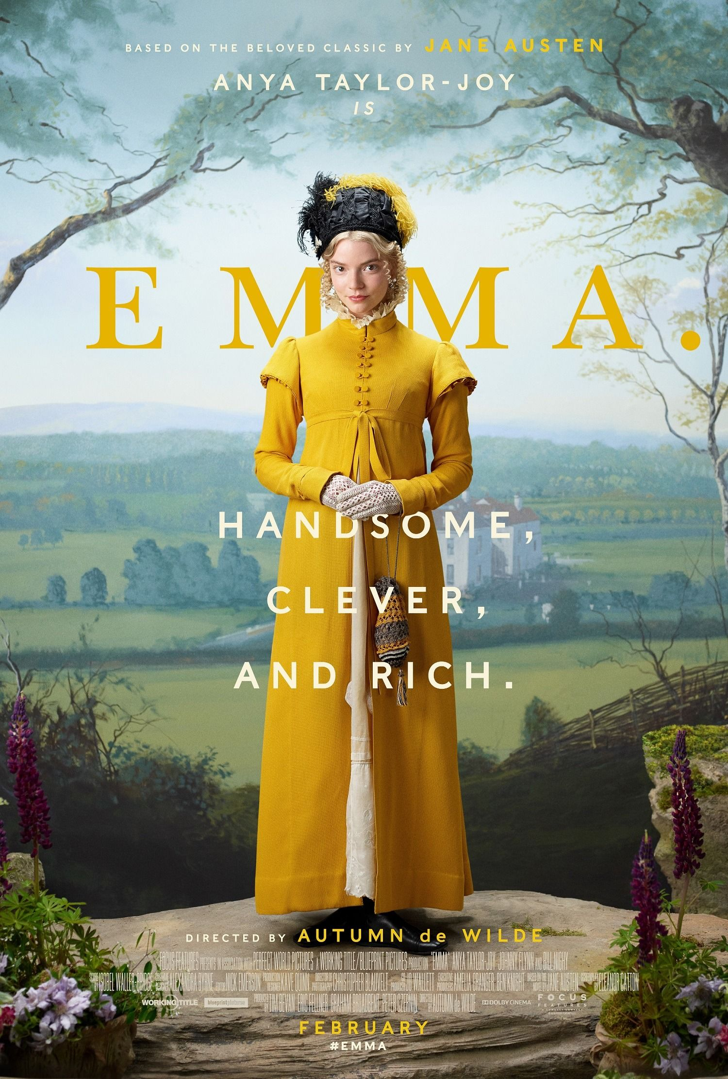 Emma. (2020) Movie Posters | Emma movie, Anya taylor joy ...
