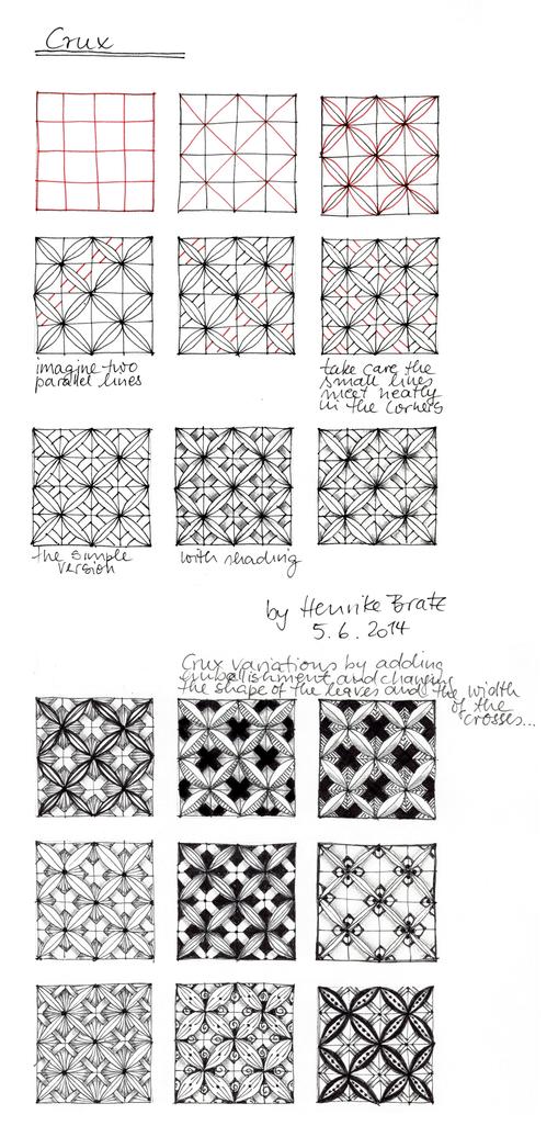 tangle pattern \