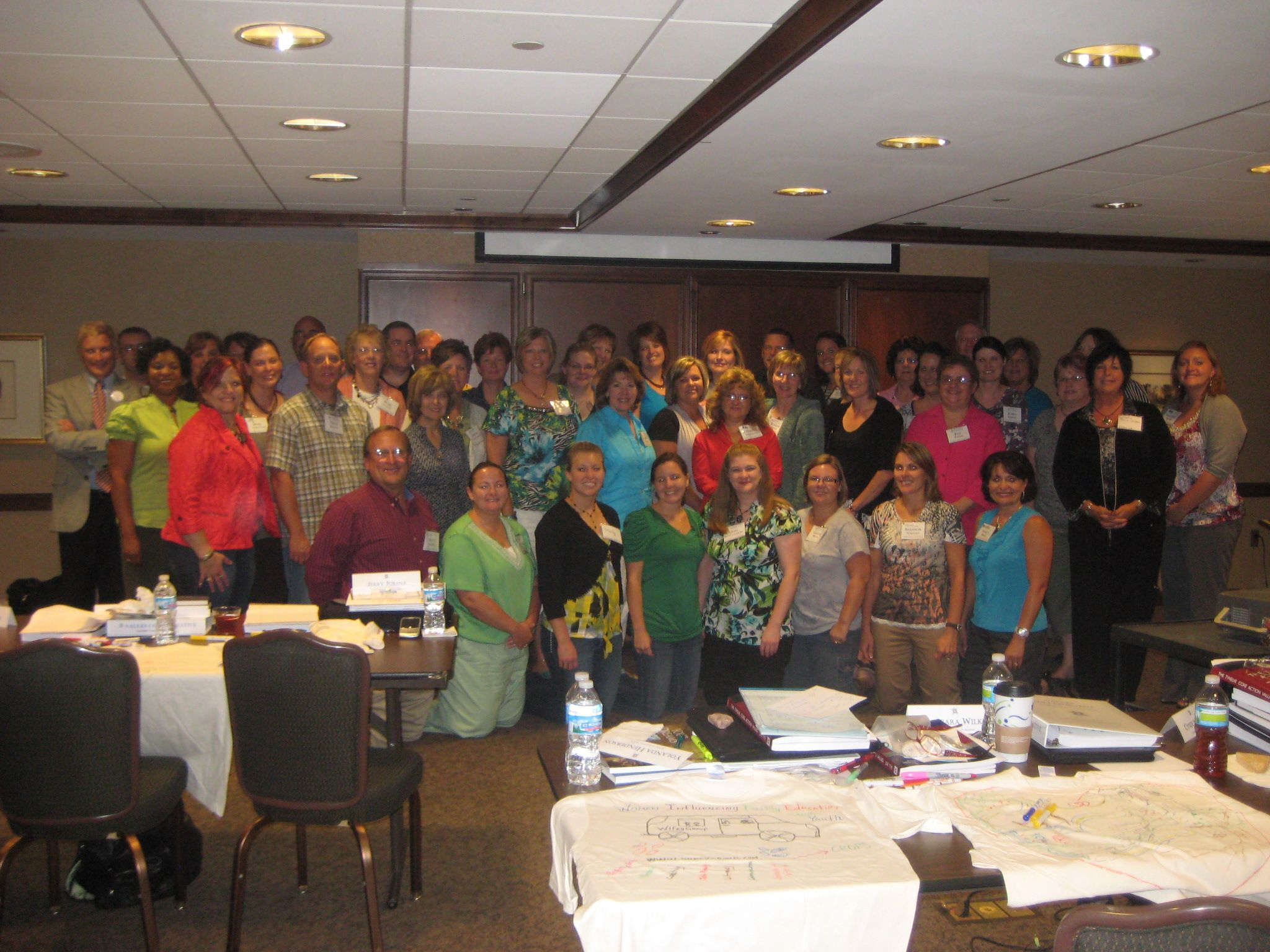 Certified Values Coach Trainer group from the course in