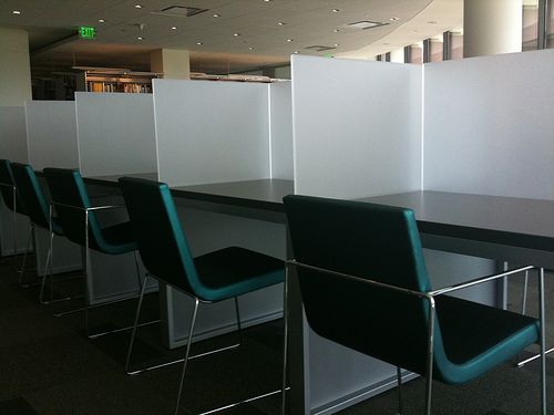 Library Carrels Home Study Rooms Library Study Room Study Room Design