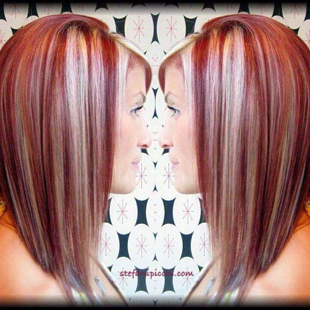 Love The Cut I Would Do Blonde Instead Of Red And Trade The