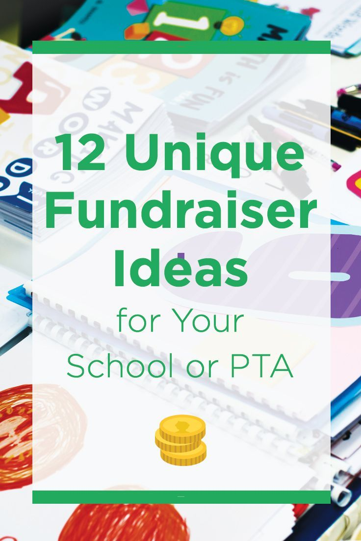 try these unique fundraising ideas for your school. | fundraising