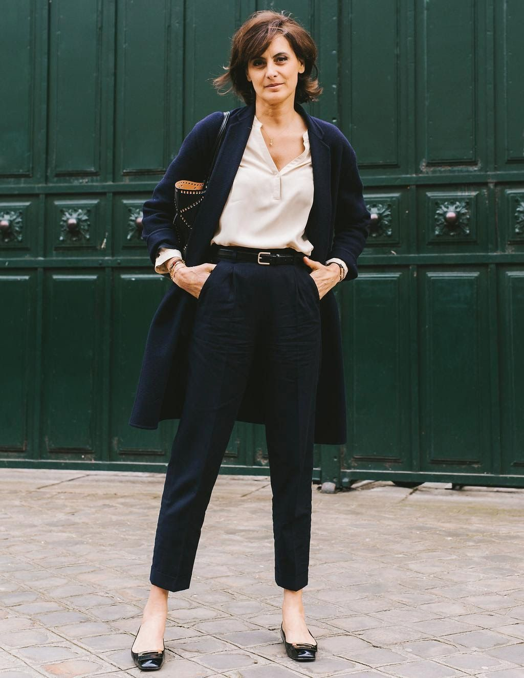Parisian Uniform Dressing a la Ines de la Fressange | That's Not My Age | Bloglovin'