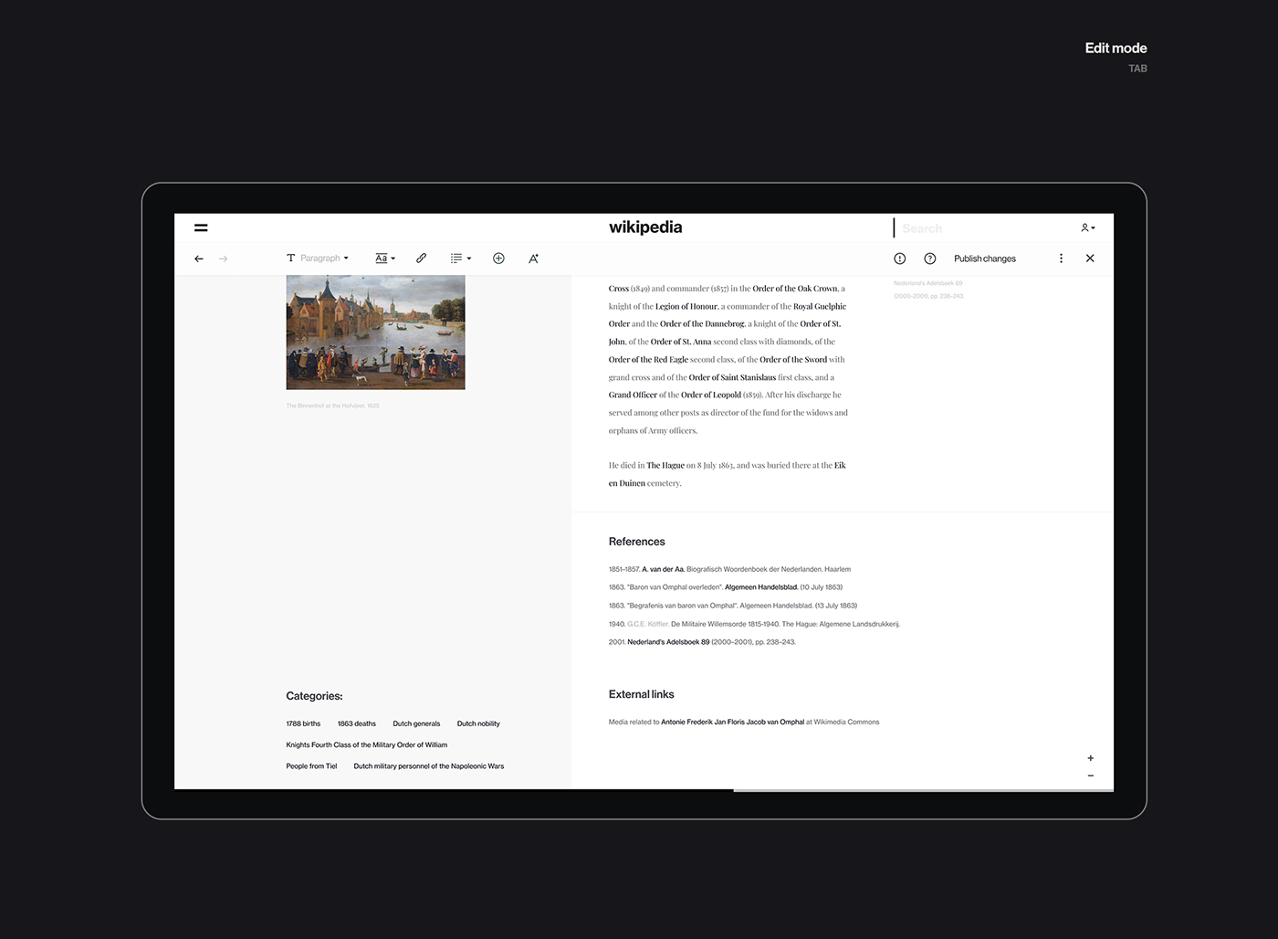 Minimalist Mobile And Desktop Web Design Concept For Wikipedia Web Design Quotes Web Design Web Design Services