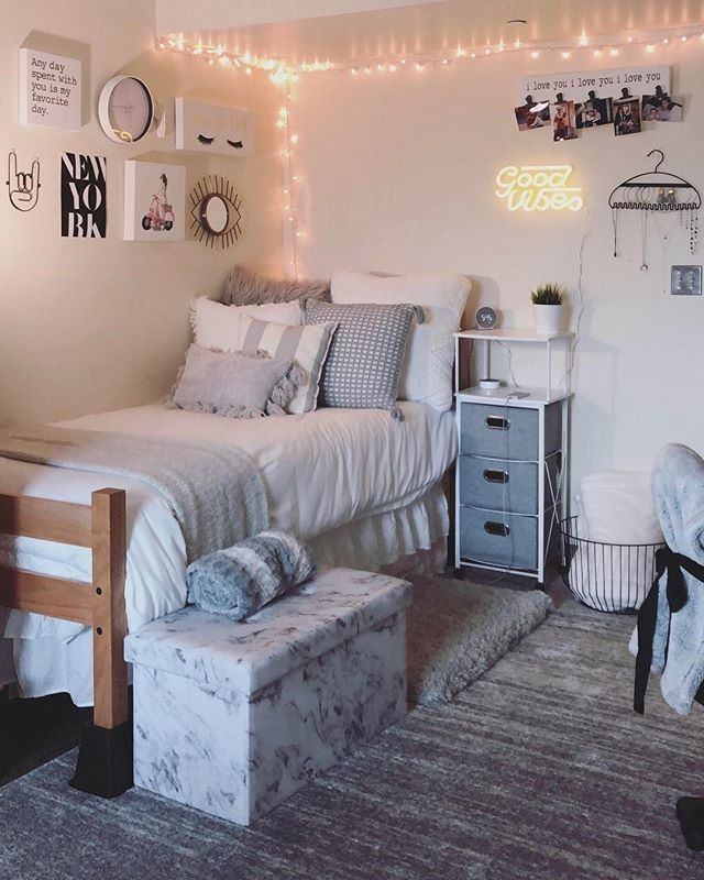 39 cute dorm room ideas to inspiring you 5 #collegedormroomideas