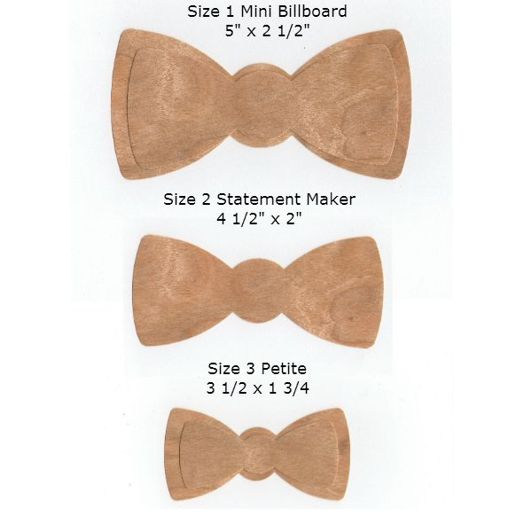 Bow Tie Measurements Related Keywords