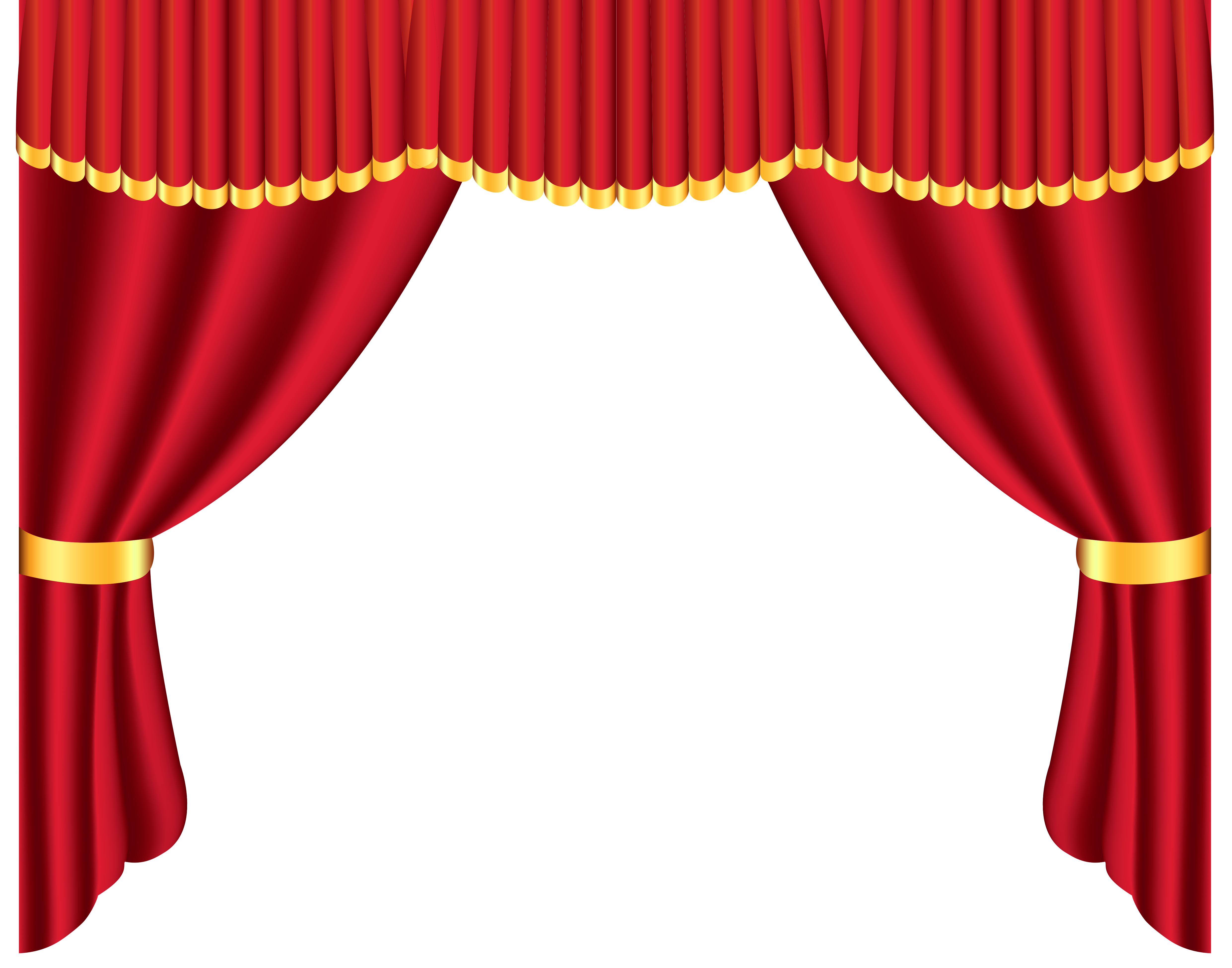 Transparent Red Curtain Png Clipart Gallery Yopriceville High Quality Images And Transparent Png Free Clipart Red Curtains Curtain Decor Curtains