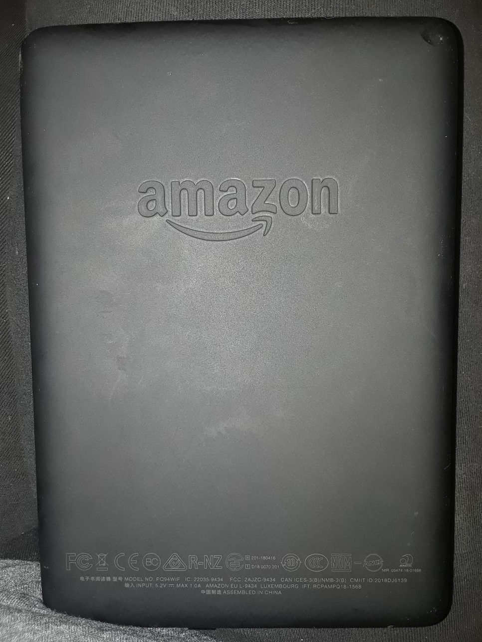 The back of the all-new Kindle Paperwhite | Books in 2019 | Kindle