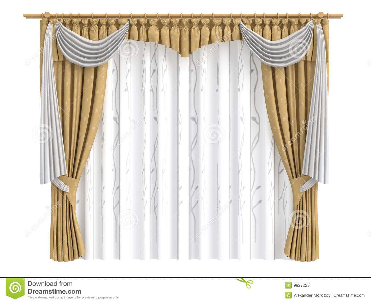 Curtains Royalty Free Stock Photos Image 9827228 Dekorasi