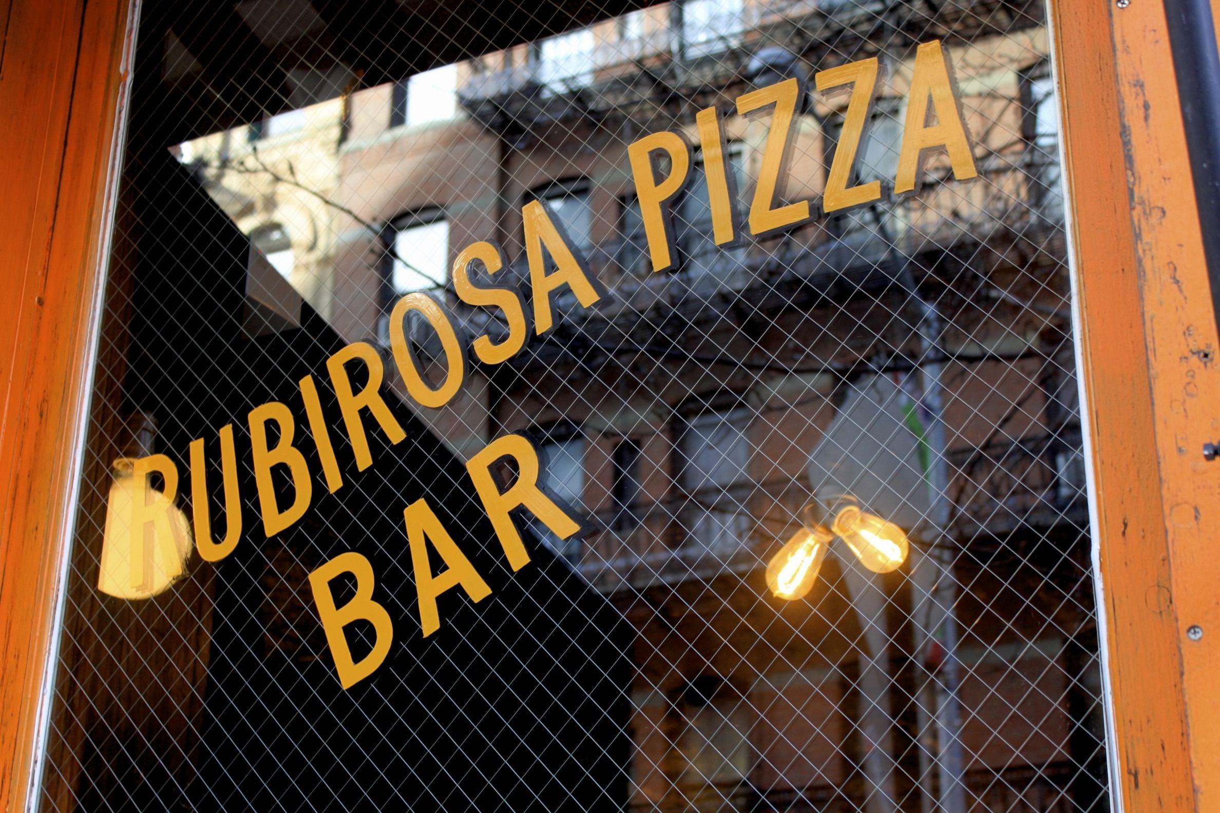 Rubirosa Pizza Bar // tasty italian - Nolita