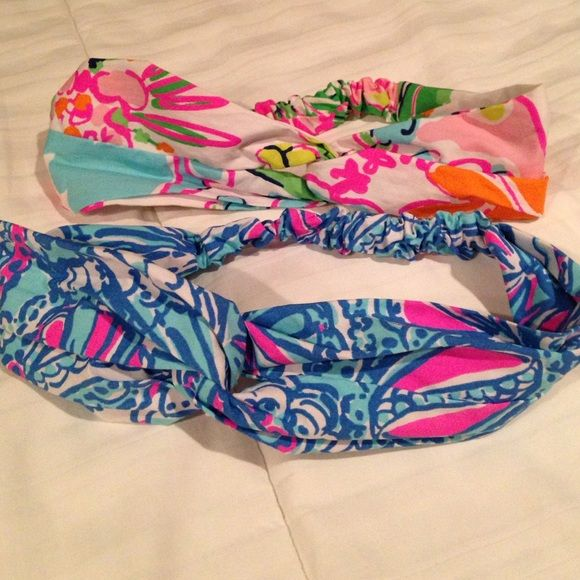 Lilly Pulitzer for target turban lot Never worn NWOT Lilly Pulitzer for Target Accessories Hair Accessories