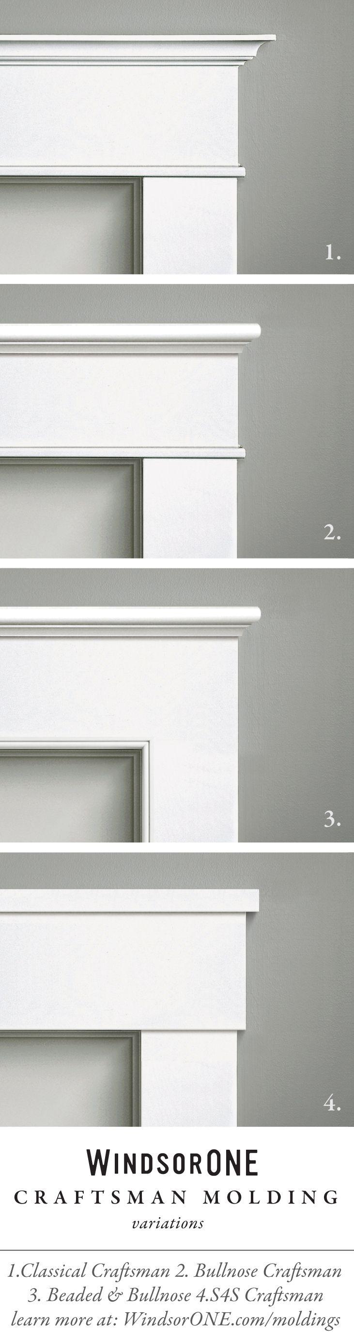 Classical Craftsman Moldings, 20th century style | Trim | Pinterest ...
