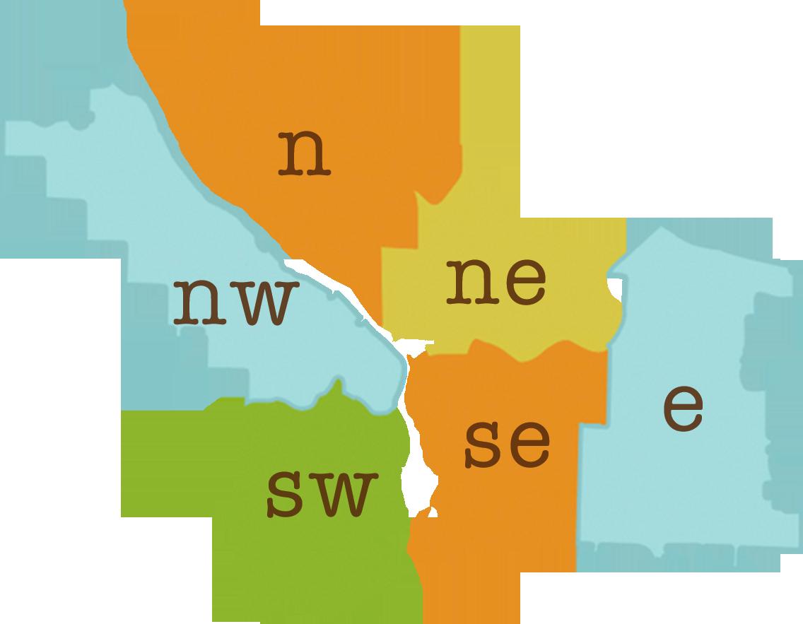 Portland Oregon Map Of Neighborhoods.Portland Oregon Neighborhood Map Neighborhood Notes Portland