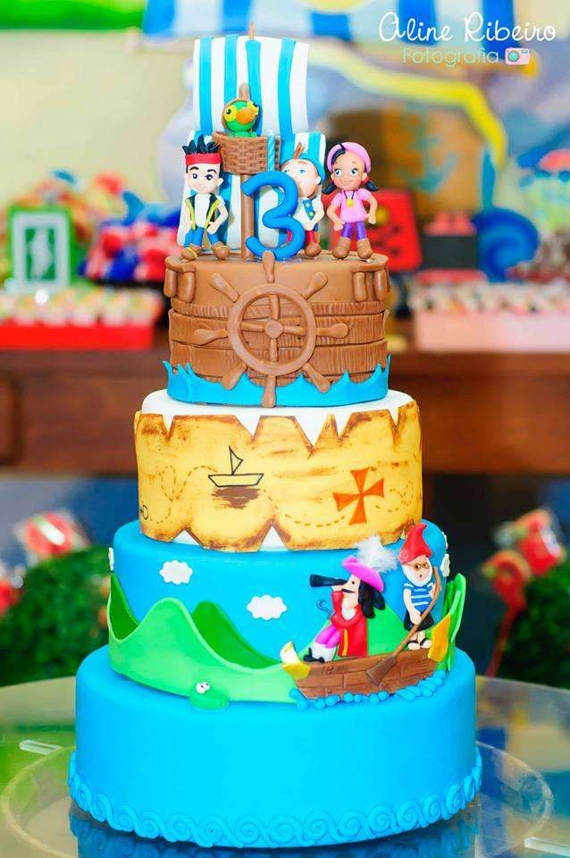 Awesome Jake And The Neverland Pirates Birthday Party Ideas With Images Funny Birthday Cards Online Inifofree Goldxyz
