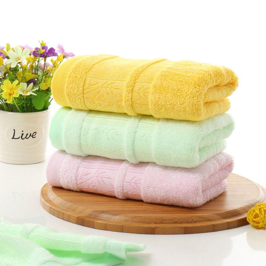 Cartoon style cm jacquard towel natural bamboo fiber hand face