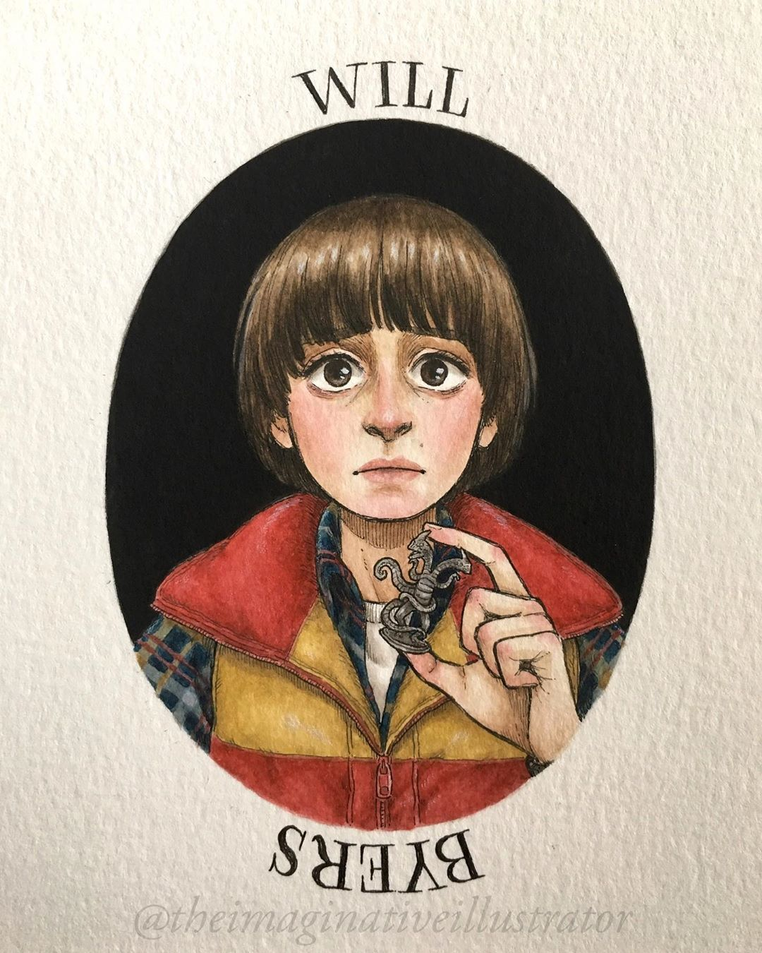 Stranger Things Will Byers By Melody Howe Theimaginativeillustrator Noah Schnapp Seaso Stranger Things Poster Stranger Things Art Stranger Things Characters