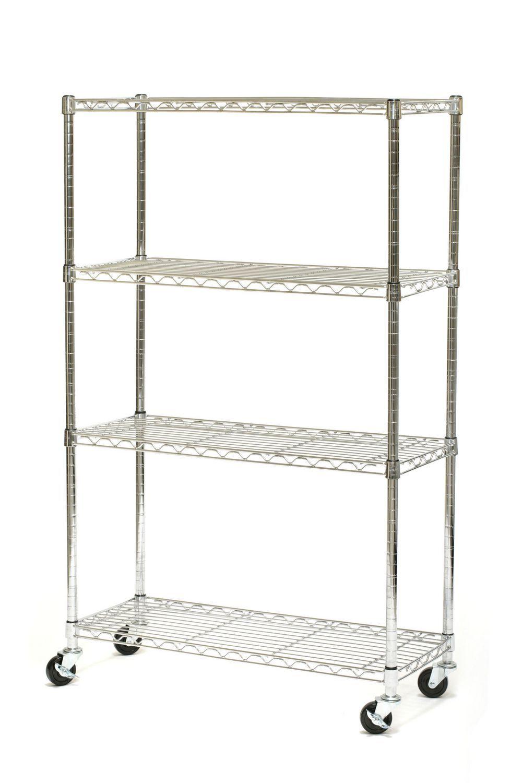 Seville Classics 4 Shelf Shelving Systems | Walmart.ca | Storage ...