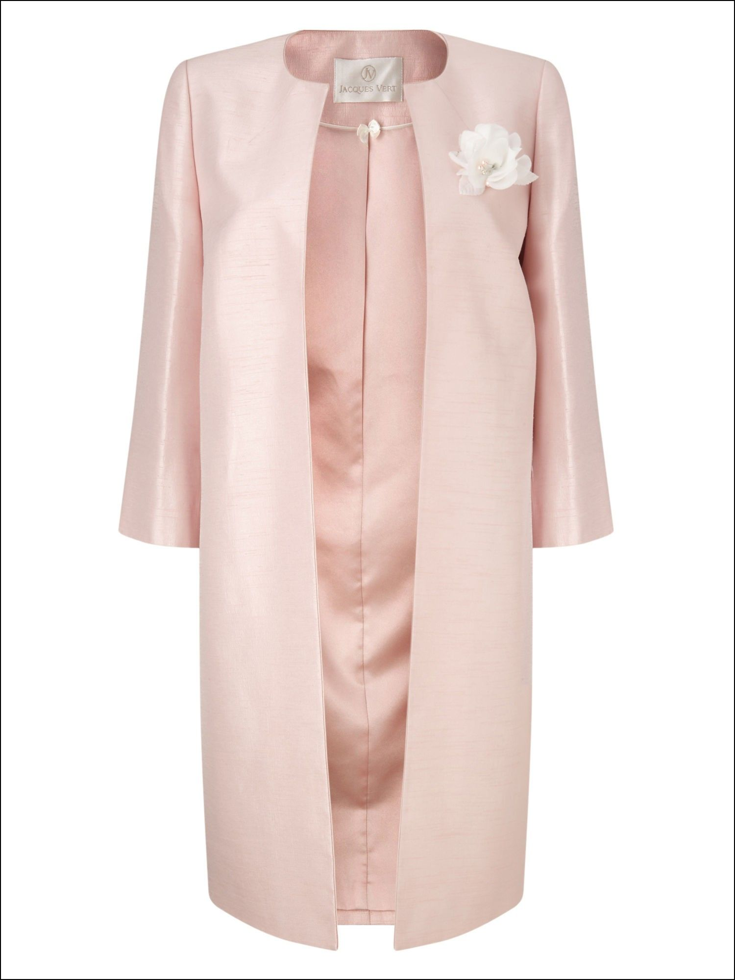 Matching Dress And Jacket For Wedding