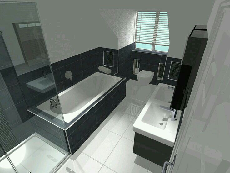 Dakkapel in badkamer volledig afgewerkt | Dakkapel afwerking | Pinterest