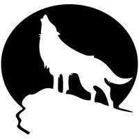 Aufkleber Preisvergleich Wolf Schablone Aufkleber Banner Ideen