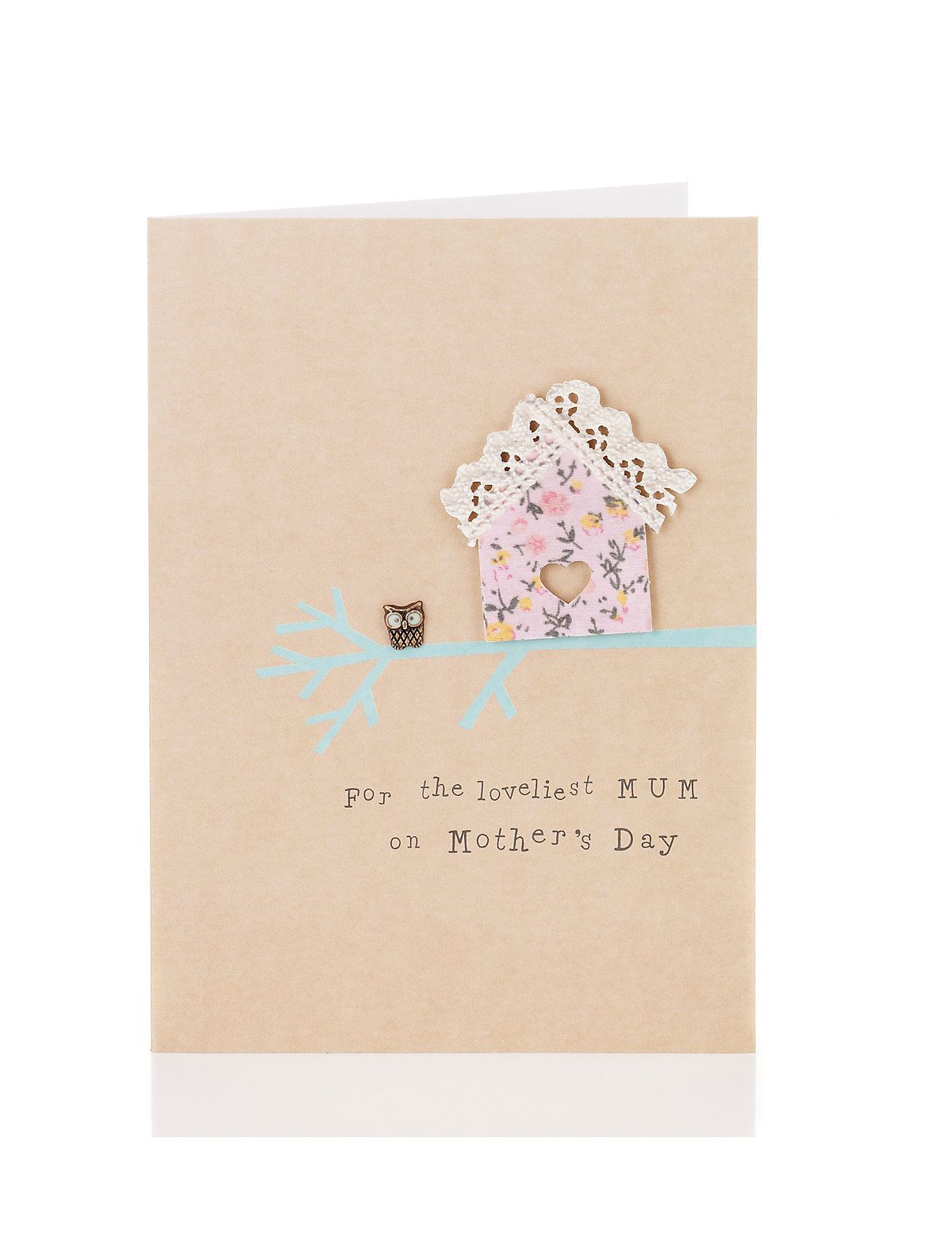 Floral birdhouse mothers day card ms greeting cards floral birdhouse mothers day card ms kristyandbryce Image collections