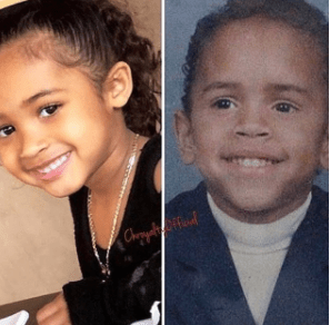 Royalty Looks So Much Like Her Dad Chris Brown When He Was
