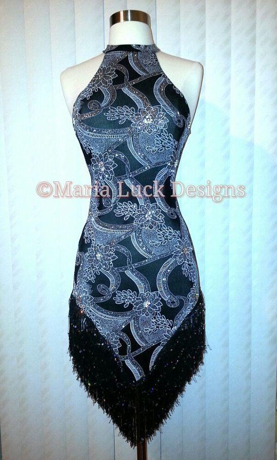 black silver glitter swarovski crystals embellished