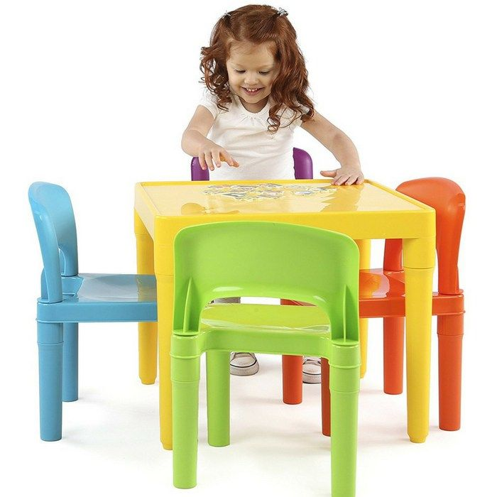 Kids Table And 4 Chairs Set Just $29.64! Down From $50! http://feeds ...