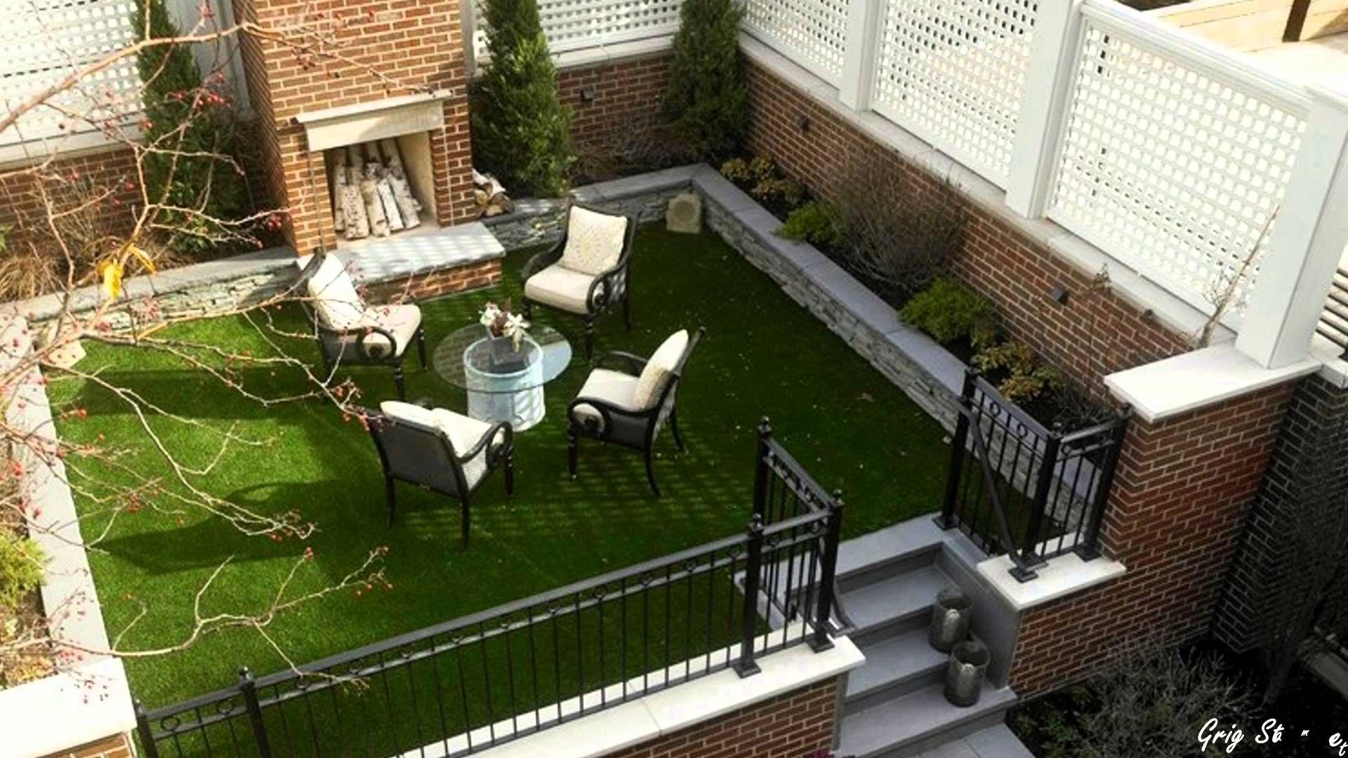 Home Design Ideas Youtube: Small City Garden Ideas, Beautiful Urban Courtyard Designs