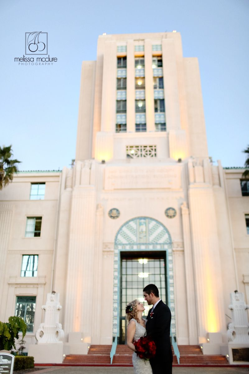 San Diego Courthouse Wedding - I'd be down for a simple, classy ceremony and then an all out party!!