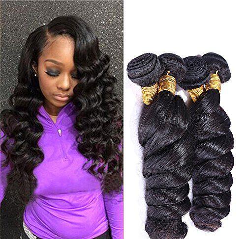 Jaycee Hair 7a Brazilian Virgin Hair Loose Wave Weft 4 Bu...