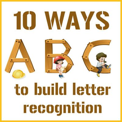 MultiSensory Ways To Build Letter Recognition  Abcs Learning