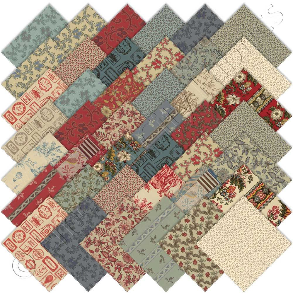 i just got this collection and I can't wait to use it...French ... : moda quilting fabric - Adamdwight.com