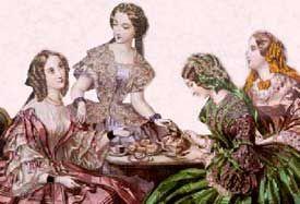 victorian tea ladies